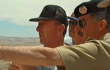 """לכבוד 50 שנה לגיוס מחזורי 1966 לצה""""ל ולסיירת גולני הועלה הסרט מהביקור אצל צבא ממלכת ירדן ב – 1998."""